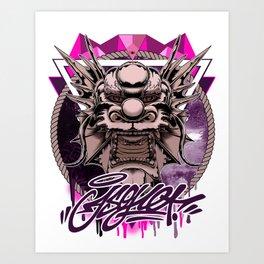 Enter the Dragon Art Print