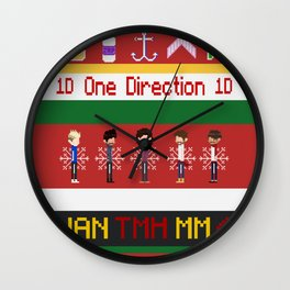 Sweater Direction Wall Clock