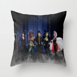 Queens of Darkness - 5 Queens Throw Pillow