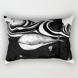 The Whale and The Balloons Rectangular Pillow