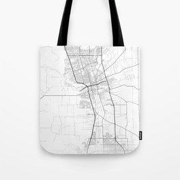 Minimal City Maps - Map Of Stockton, California, United States Tote Bag