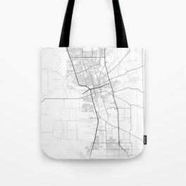 Minimal City Maps - Map Of Stockton, California, United States Tote Bag
