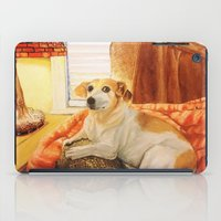 jack russell iPad Cases featuring Jack Russell by Good Artitude