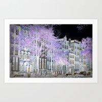 amsterdam Art Prints featuring Amsterdam by DuniStudioDesign