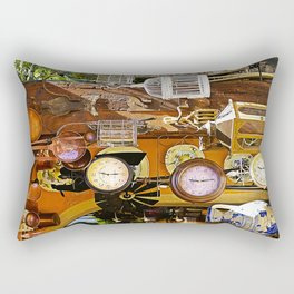 Watches and more Rectangular Pillow