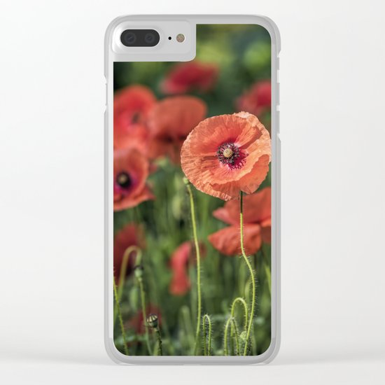 Poppy what else? Clear iPhone Case