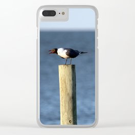 Ocracoke Seagull 3 Clear iPhone Case