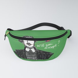 Culture, poets, writers, will you accept this rose Fanny Pack