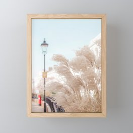 Elegant Pampas Framed Mini Art Print