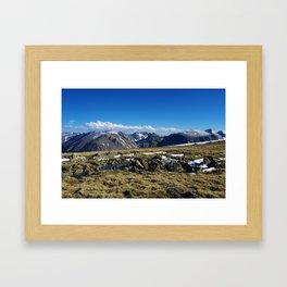 High Rockies, Colorado Framed Art Print