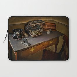 Vintage Writers Corner Laptop Sleeve