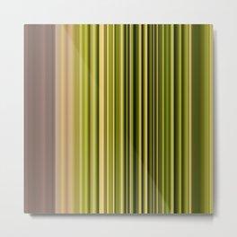 Scanline | Moss 326 Metal Print