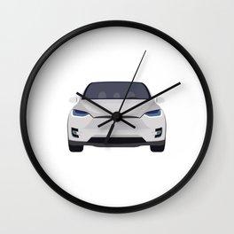 Tesla Model X Wall Clock