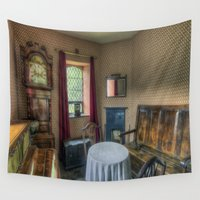 home sweet home Wall Tapestries featuring Home Sweet Home by Ian Mitchell