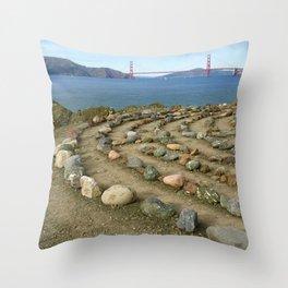 Lands end San Francisco Throw Pillow