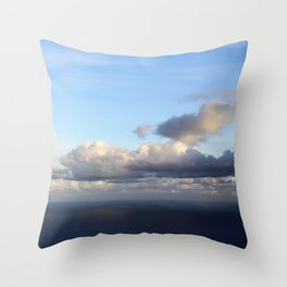 room with a view - day 7 Throw Pillow