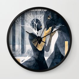 The Gold Within Wall Clock