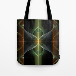 Fairy Gate Fractal Tote Bag