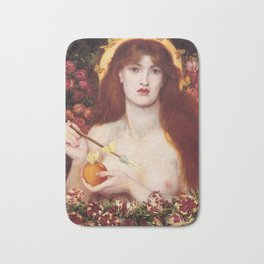 VENUS VERTICORDIA - ROSSETTI Bath Mat