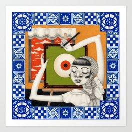 Mulat (Conscious) Art Print