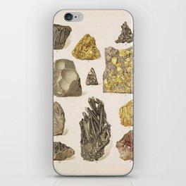 Vintage Gold Minerals iPhone Skin