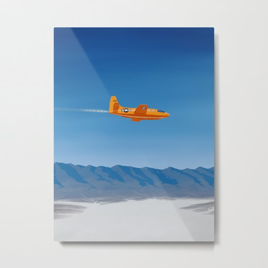 Bell X-1 Metal Print