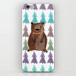 bear with me iPhone Skin