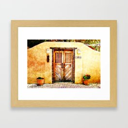Romance of New Mexico Framed Art Print