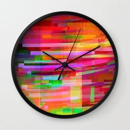 late july Wall Clock