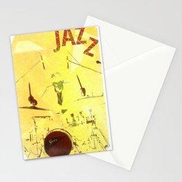 Jazz Poster Stationery Cards