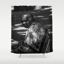 STREETS OF INDIA Shower Curtain