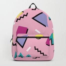 Memphis pattern 75 - 80s / 90s Retro Backpack