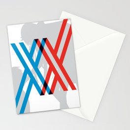 Darling in the FranXX - Hiro and Zero Two Stationery Cards