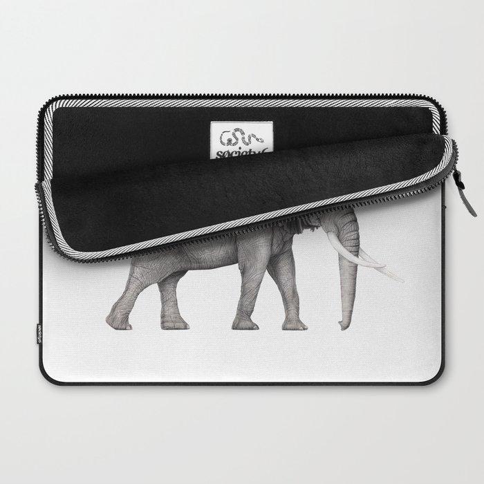 Bull Elephant  Laptop Sleeve