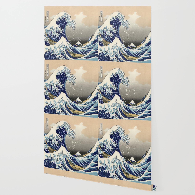 Japan Waves Kanagawa Painting Iphone X Wallpaper Telecharger