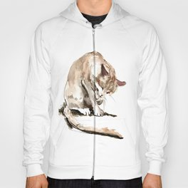 Cat, cat design cat lover, cat sketch Hoody