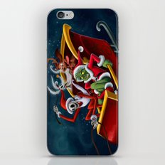 Christmas Hijackers iPhone & iPod Skin