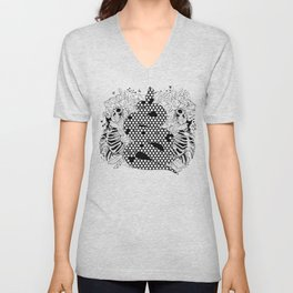 More bees with honey Unisex V-Neck