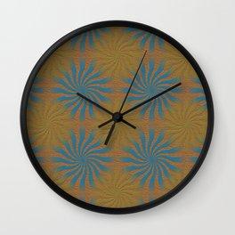3D Spirals Wall Clock