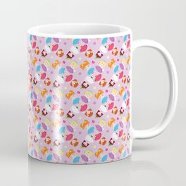 Polly Pocket Pattern Coffee Mug