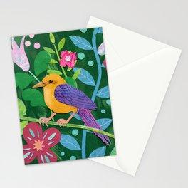 Tropical bird Stationery Cards