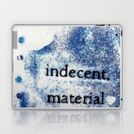 Indecent Material Laptop & iPad Skin