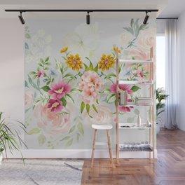 Beauty Flowers Wall Mural