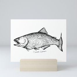 Chinook Salmon Mini Art Print