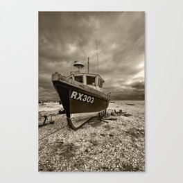 Dark Dungeness Canvas Print