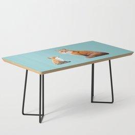 Fox Tenderness Coffee Table