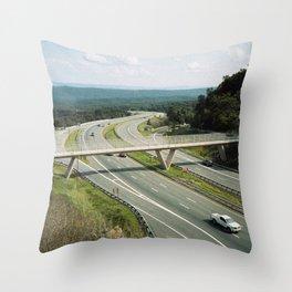 Interstate 68 2 Throw Pillow