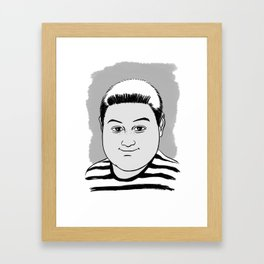 PUGSLEY ADDAMS - THE ADDAMS FAMILY Framed Art Print