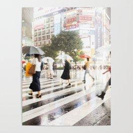 The Shibuya Crossing Poster