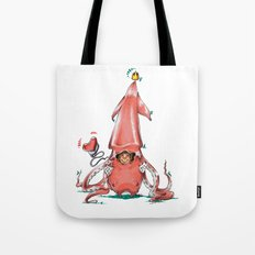 Calamar Prince Tote Bag